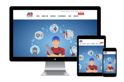 JOB Heating & Air Conditioning Website Design