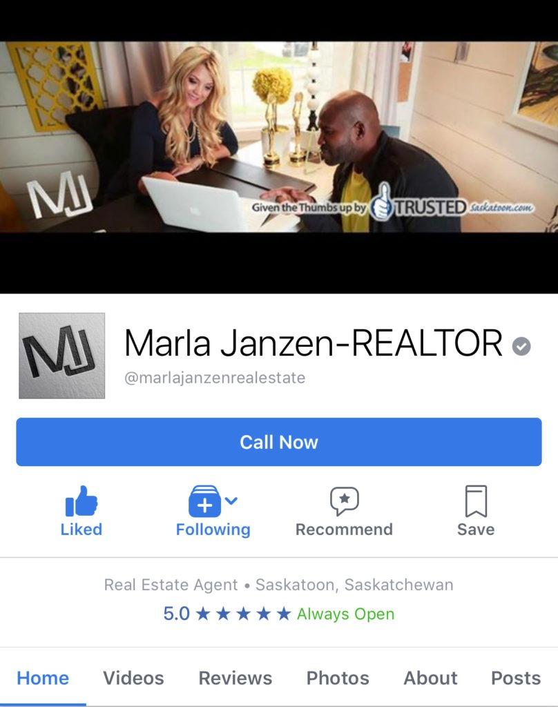 Marla Janzen Facebook page