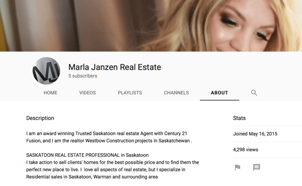 Marla Janzen You Tube Channel