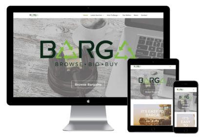 Barga Website Design