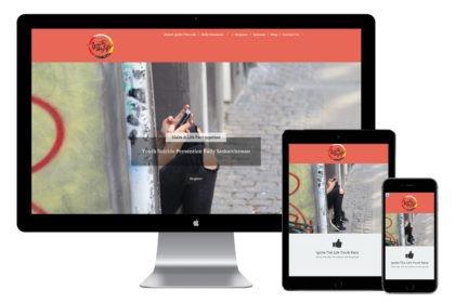 Ignite The Life Website Desgin