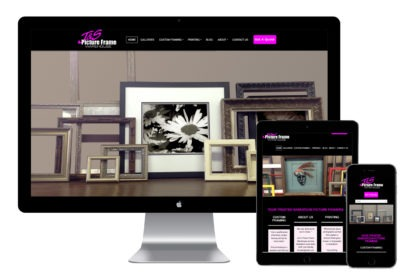 J & S Picture Frame Warehouse Website Design