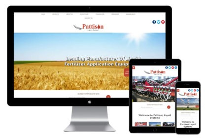 Pattison Website Design