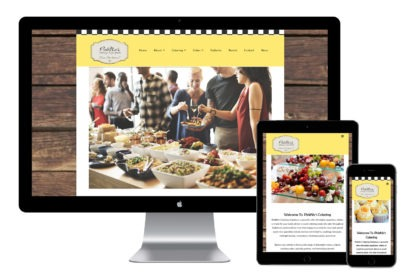 PickNic's Catering Website Design