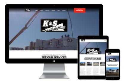 K&S Contracting Inc Website Design