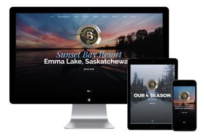 Sunset Bay Resort Website