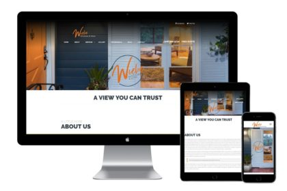 Wiebe Windows & More Website Design
