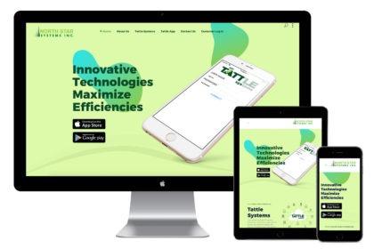 Tattle System Website Design