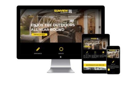 Sunview Solariums Website