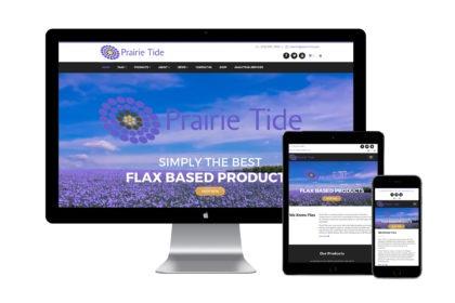 Prairie Tide Website