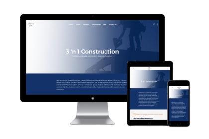 3 n 1 New Website Design