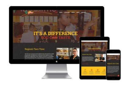 Regina Taco Time Website