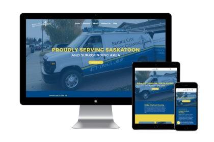 Bridge City Duct Cleaning Website