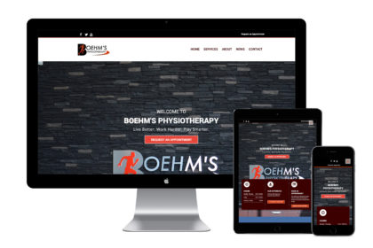 Boehm's Physiotherapy New Website