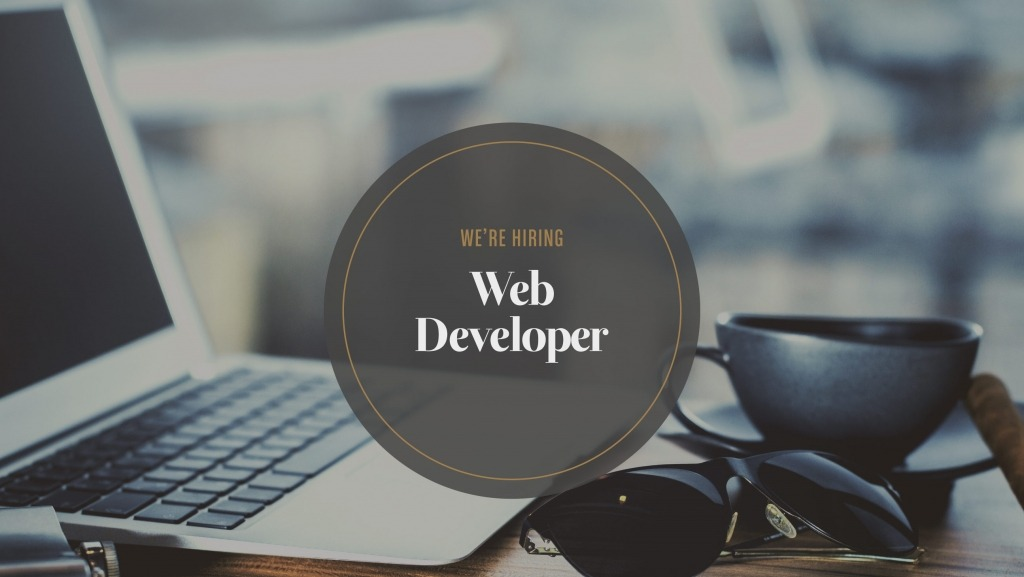 Junior web developer hiring