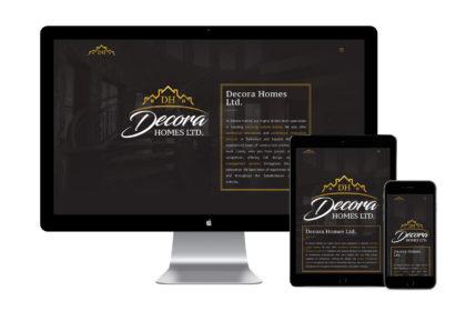 Decora Homes Website