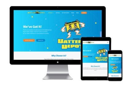 Regina Battery Depot Website
