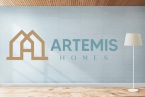 Artemis Homes Logo Design