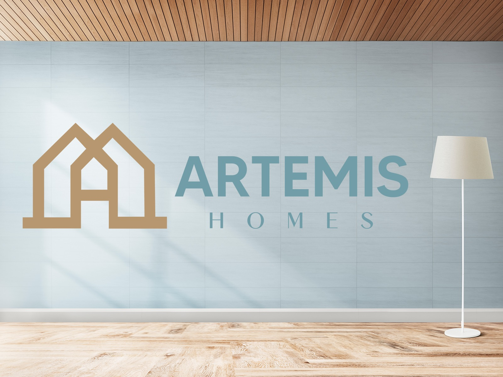 Artemis Homes Logo Design