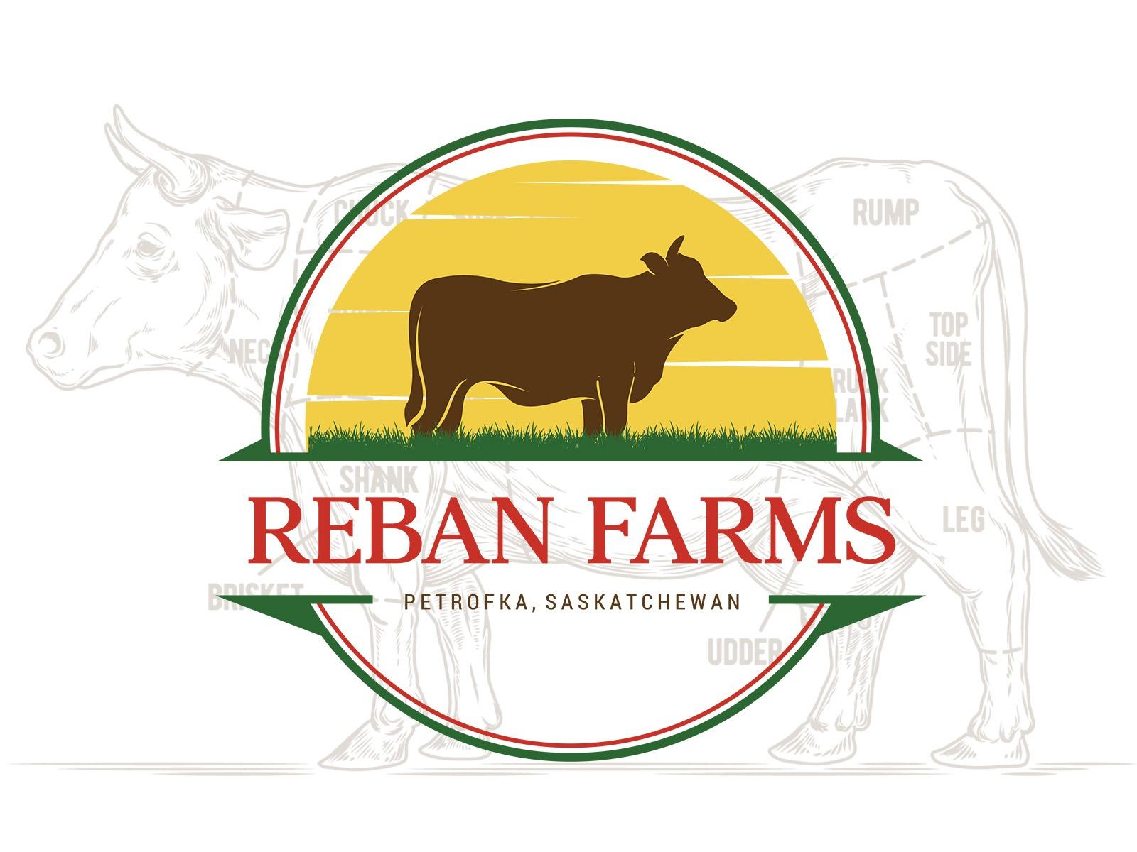 Reban Farms Logo Design