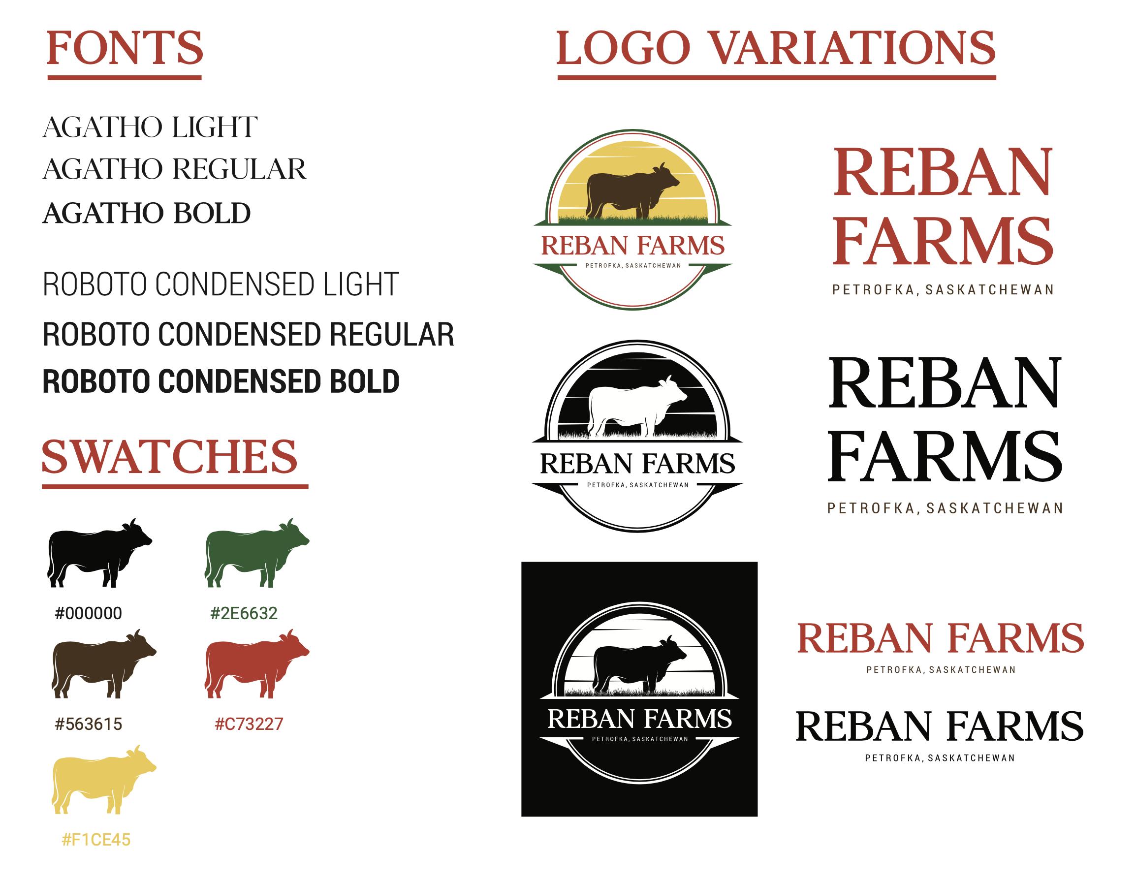 Reban Farms Style Guide