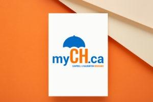 myCH Logo Design