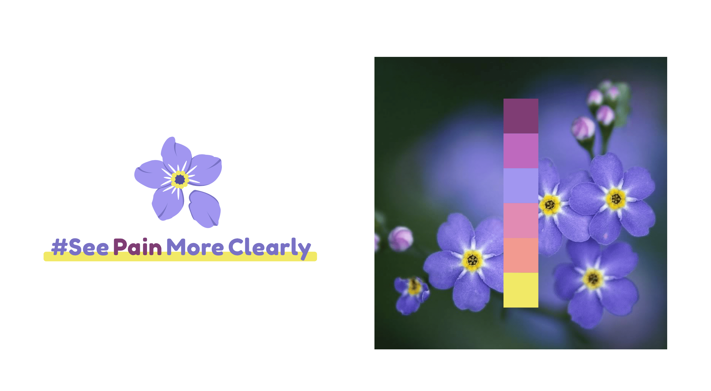 See Pain More Clearly Logo Design